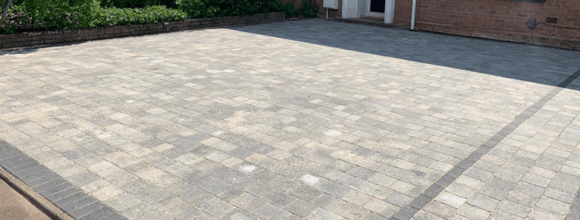 Block Paved Driveway in Solihull