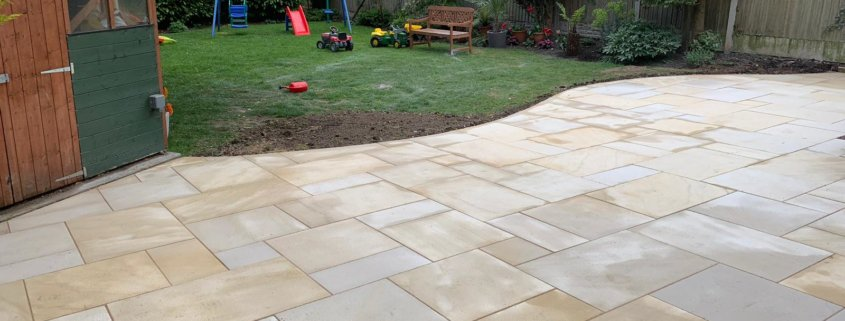 Slabbed Patio Solihull