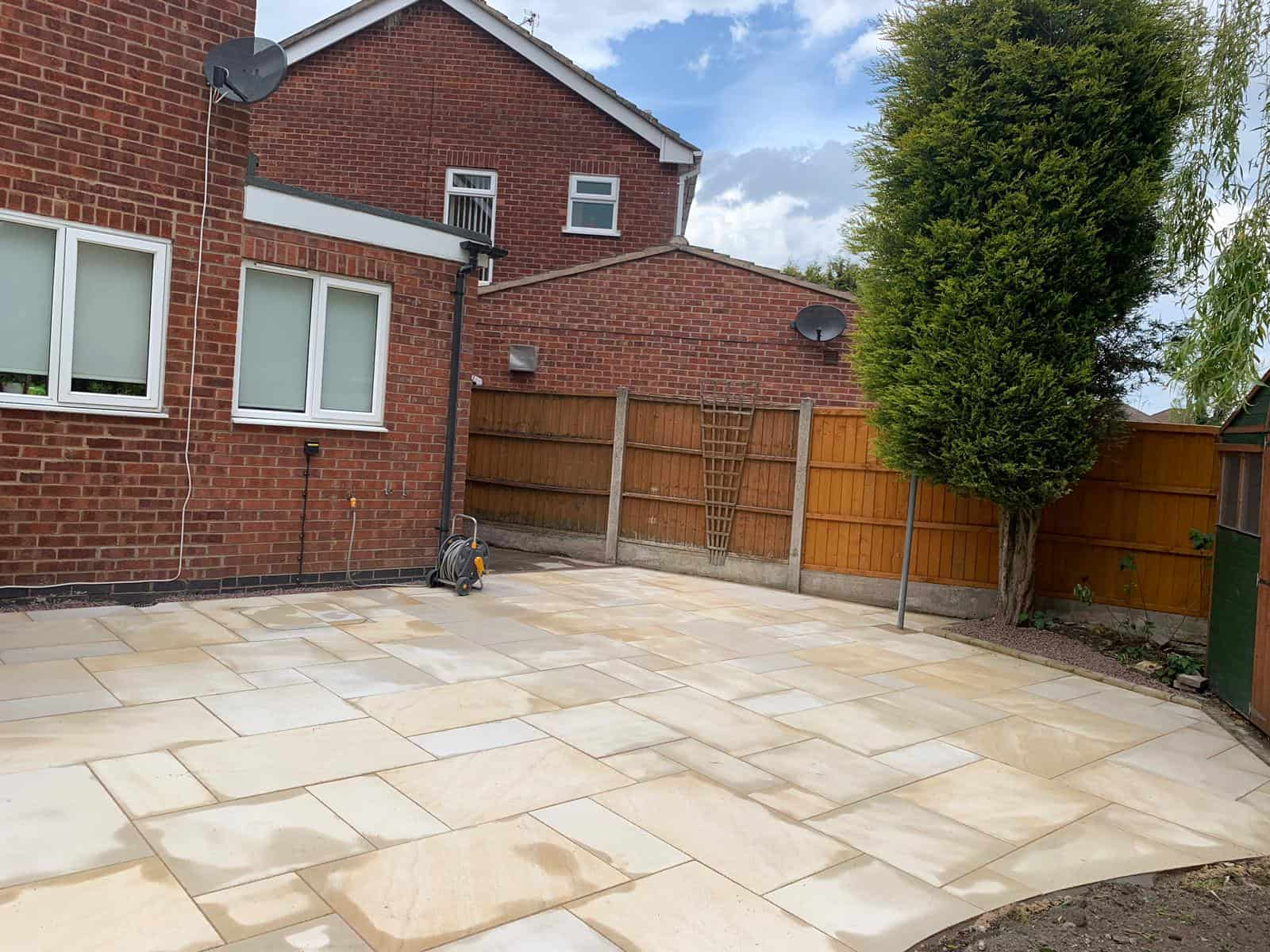 Projects Paving Slabbed Patio Solihull