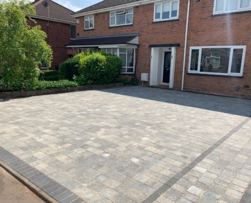 Block paving Sutton Coldfield